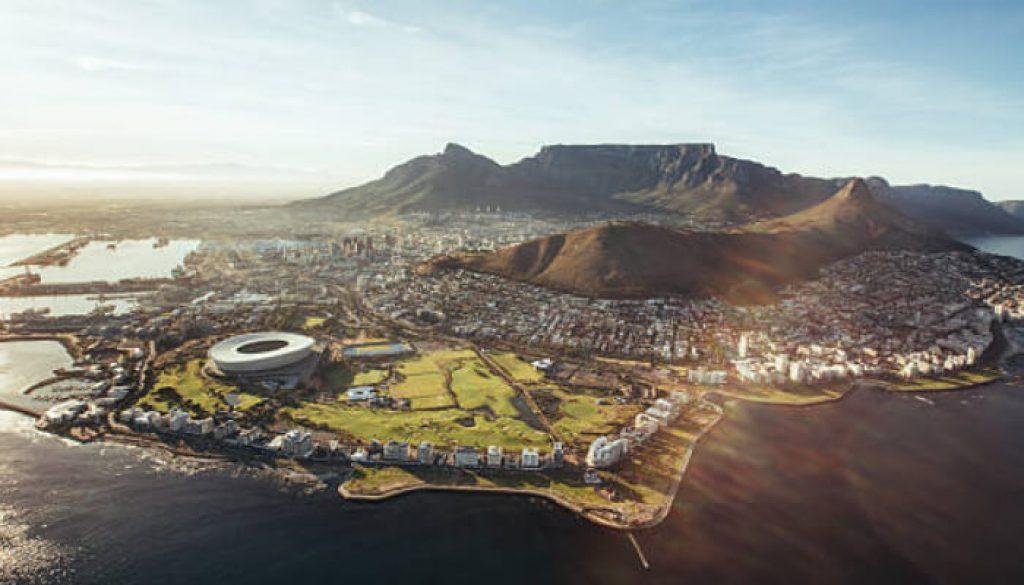 Cidade do cabo capital da África do Sul