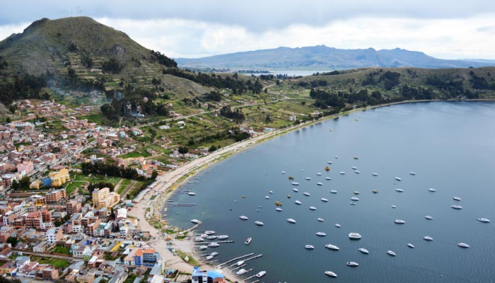 Copacabana, Ilhas do Sol e da Lua e o Lago Titicaca