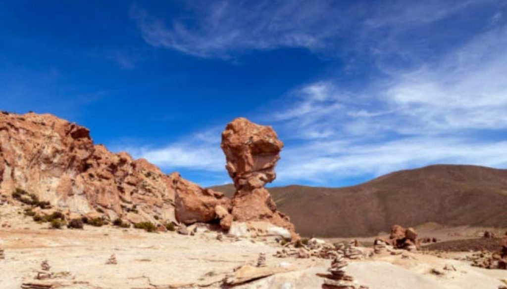 Canion na Bolivia