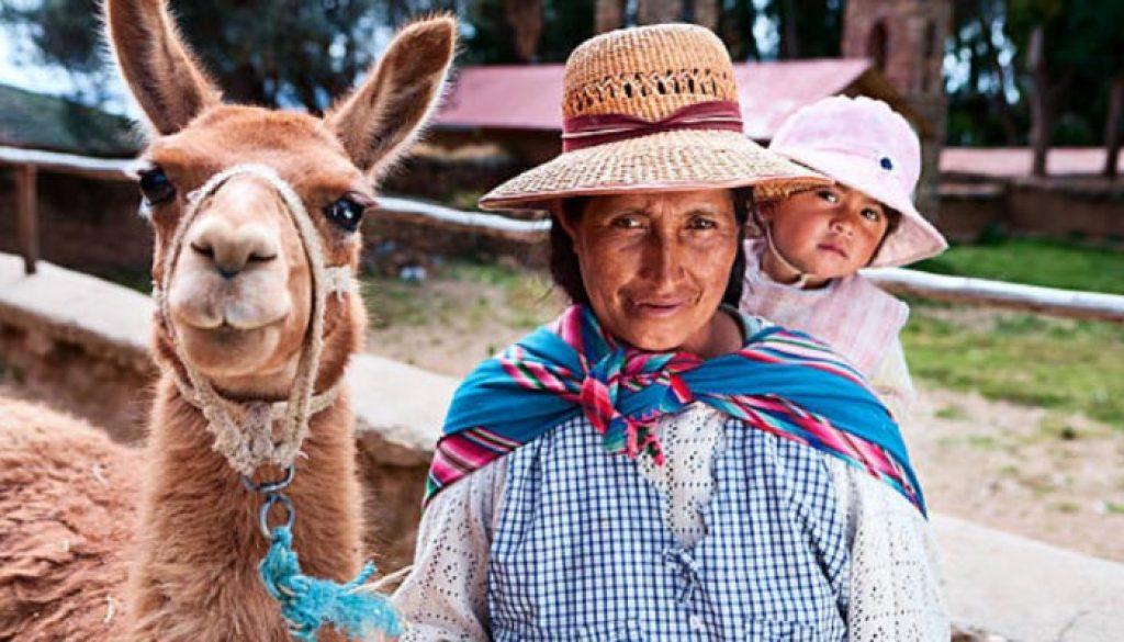 Indigenas da bolivia
