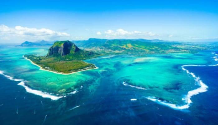 Ilhas Maurícias na África Oriental