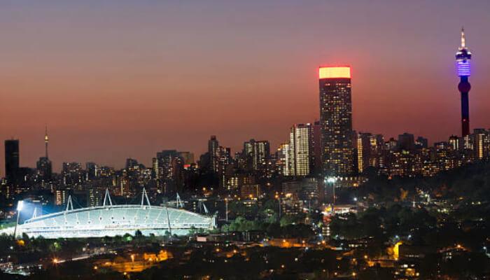 Johannesburgo é a maior cidade da África do Sul
