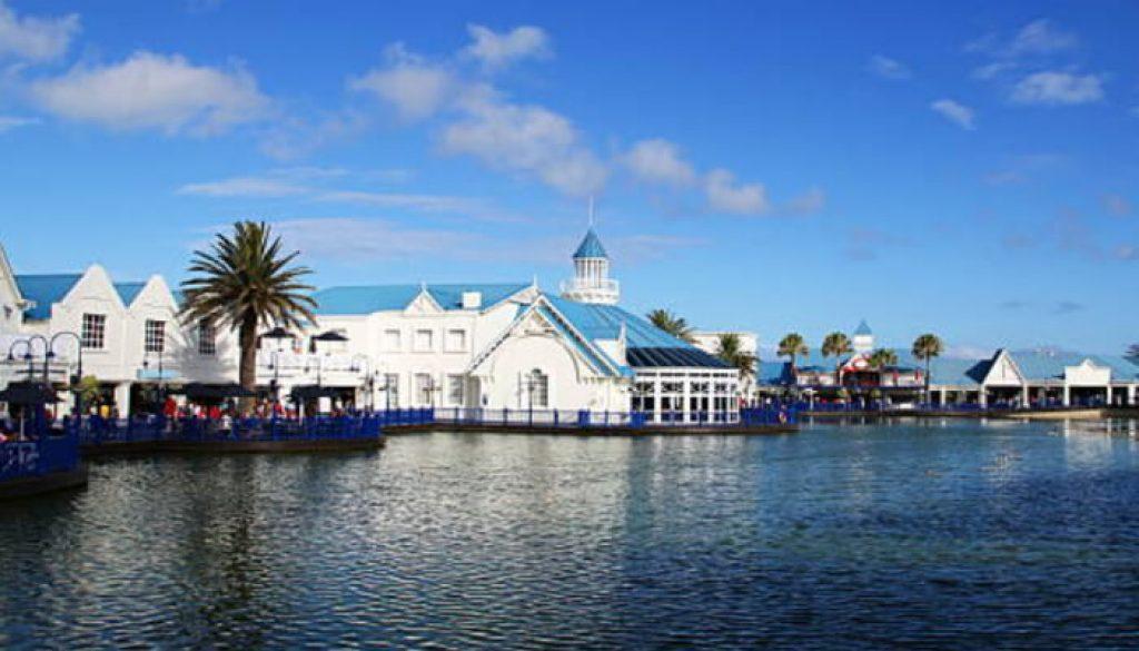 Porto Elizabeth é uma cidade na baía de Algoa