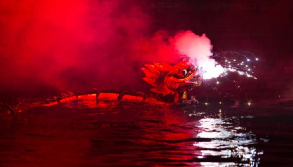 O teatro aquático de fantoches é uma modalidade de teatro de fantoches, uma manifestação cultural característica do Vietnam