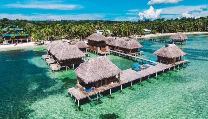 Bocas del Toro no Panamá