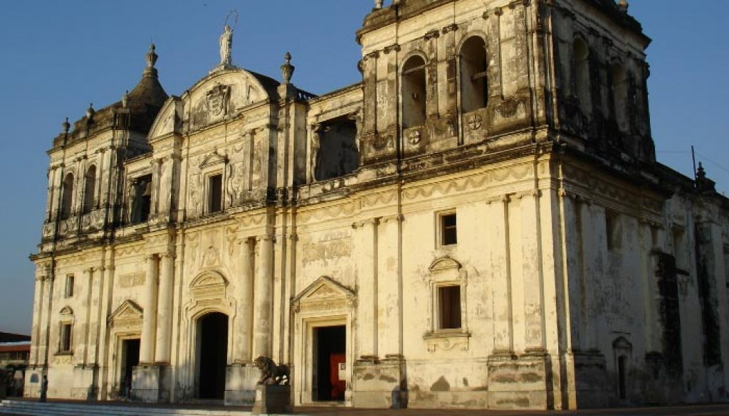 Catedral de leon na Nicaragua