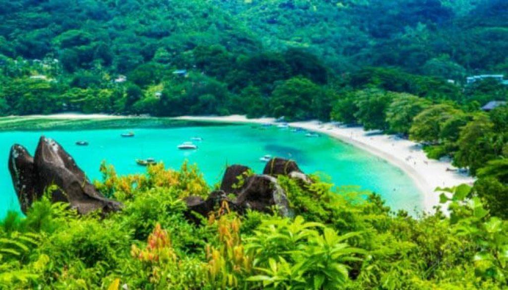 As Seychelles são um arquipélago de 115 ilhas no Oceano Índico