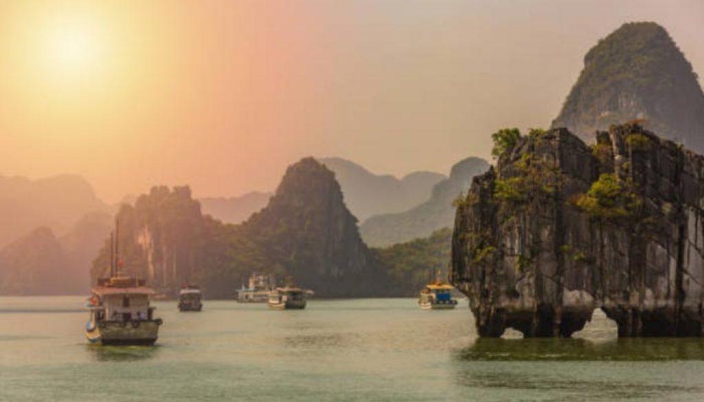 O Vietname é um país do sudeste asiático