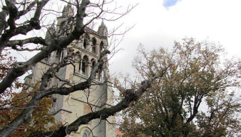 A Catedral protestante Nossa Senhora de Lausana