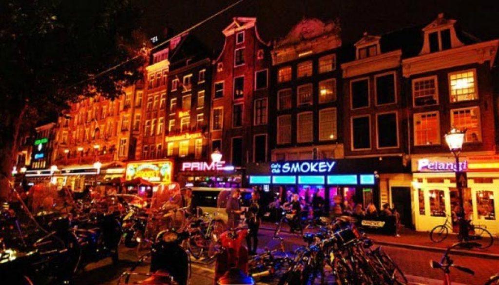 Vida-noturna na Holanda
