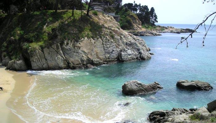 Praia de Los Enamorados