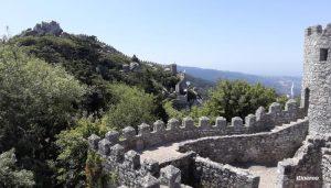 Castelo dos Mouros em Sintra Portugal