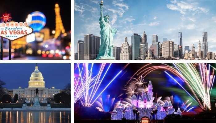 Estados Unidos Pontos Turísticos