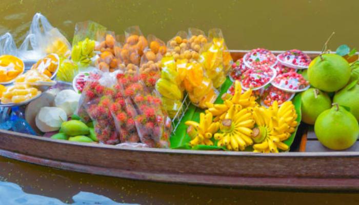 Mercado-flutuante-Damnoen-Saduak