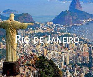 pacote de viagem para o Rio de janeiro