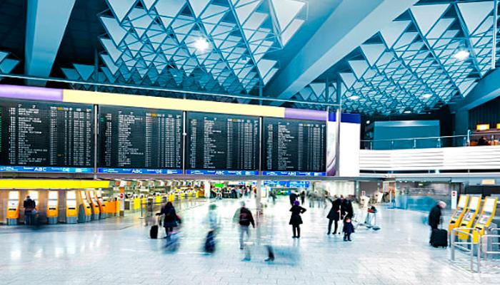 Chek-in-no-aeroporto