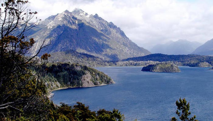 Lago Nahuel Huapi e suas ilhas