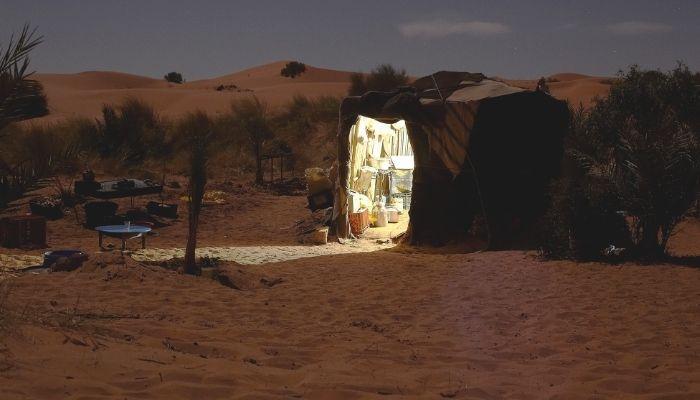 Como dormir no deserto