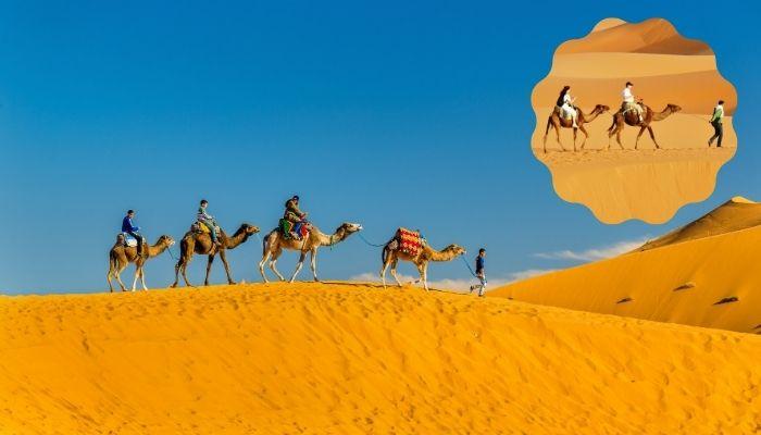 Passeios pelas dunas