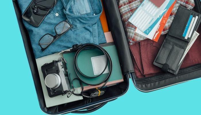 Como acomodar os produtos nas malas