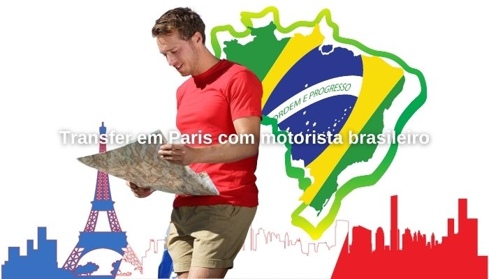 Transfer em Paris com motorista brasileiro