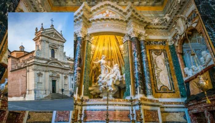 O Êxtase de Santa Teresa na Santa Maria della Vittoria