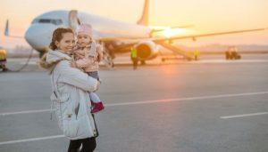 A partir de quantos meses o bebê pode viajar de avião?