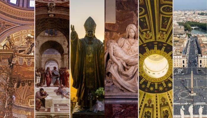 Principal atração dos Museus do Vaticano