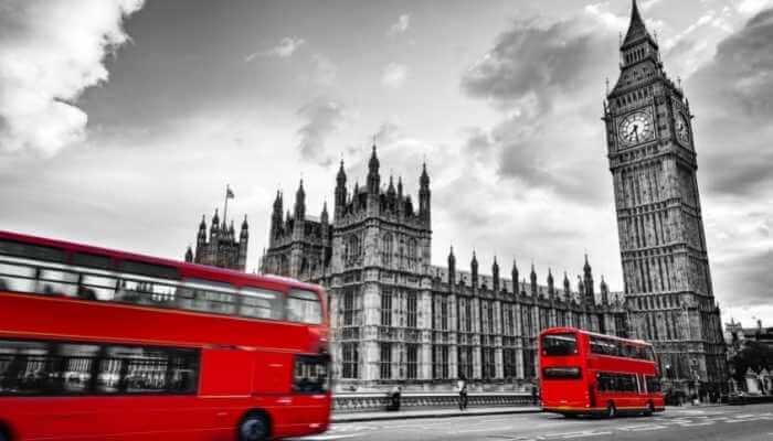 Big Ben e o Parlamento Britânico